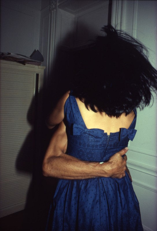 Nan Goldin, The Hug, NYC, 1980