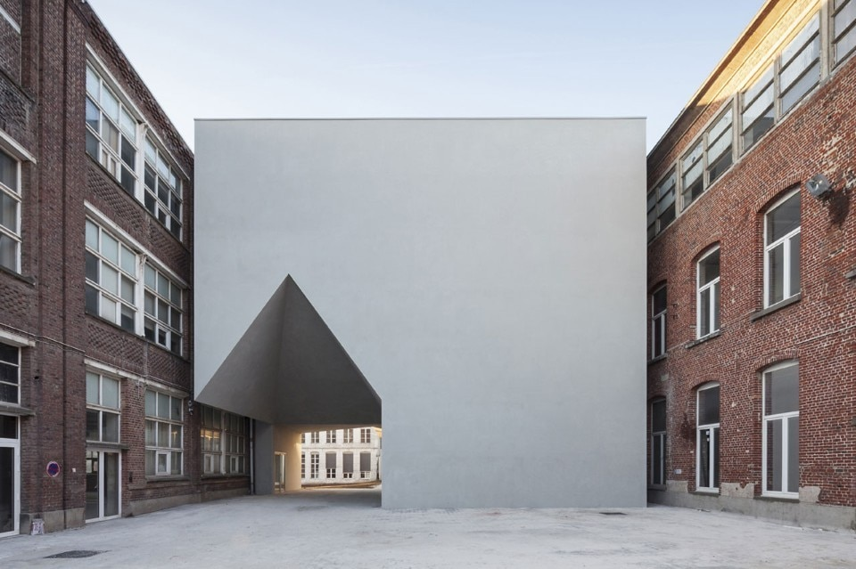 Aires Mateus, Faculty of Architecture , Turnai, Belgium