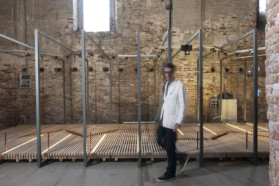 Riccardo Blumer, Venice Architecture Biennale 2018. Photo Paolo Mazzo