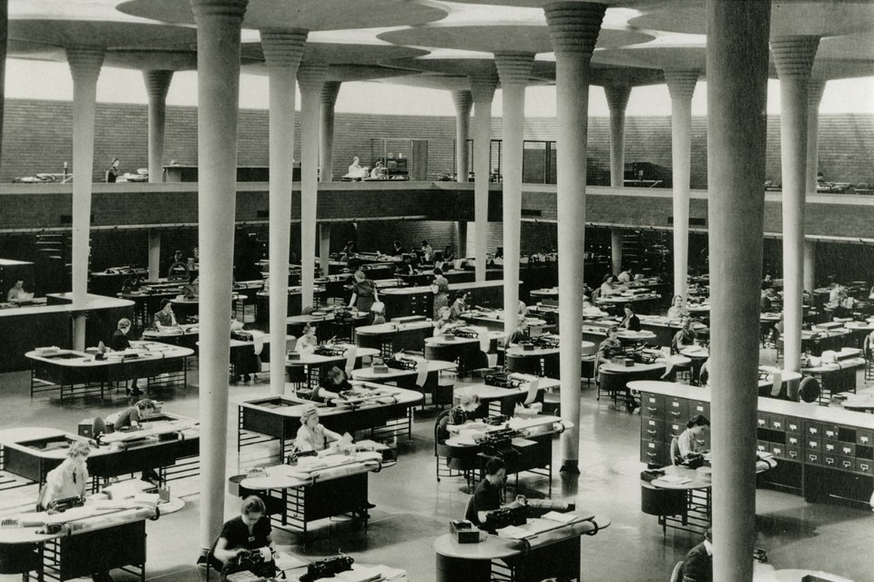 The World S Most Modern Office Frank Lloyd Wright S Johnson