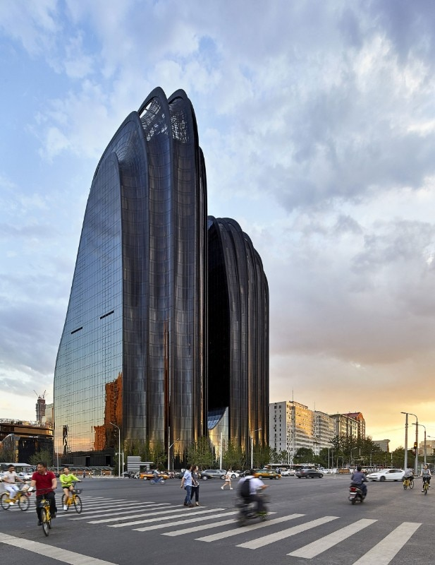 Mad Architects Towers For The Chaoyang Park Plaza Look