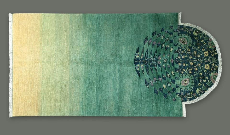 Nada Debs Interlaced Carpets On Show At Dubai Design Week