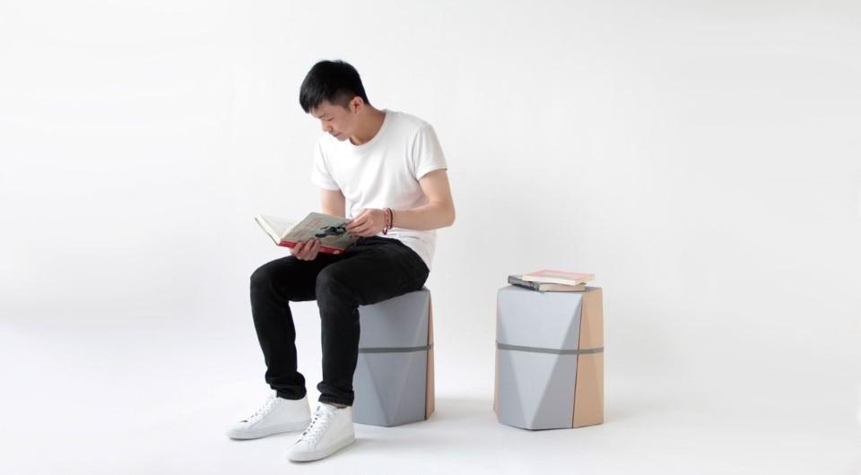 Upcycled And Minimal Xiang Guan S New Stool Series Domus