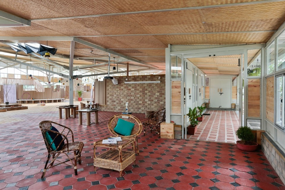 Biome designed a sustainable learning centre in bangalore for Education design architects bangalore
