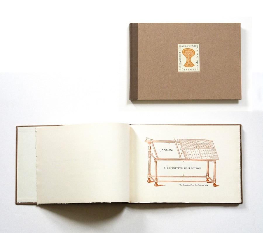 Jack stauffacher a typographer and printer who mixed for Domus book collection