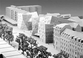 The coming of the new. Libeskind in Dresden