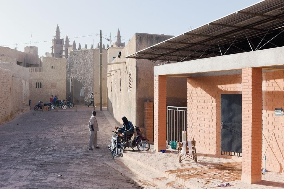 The Mopti visitors' centre