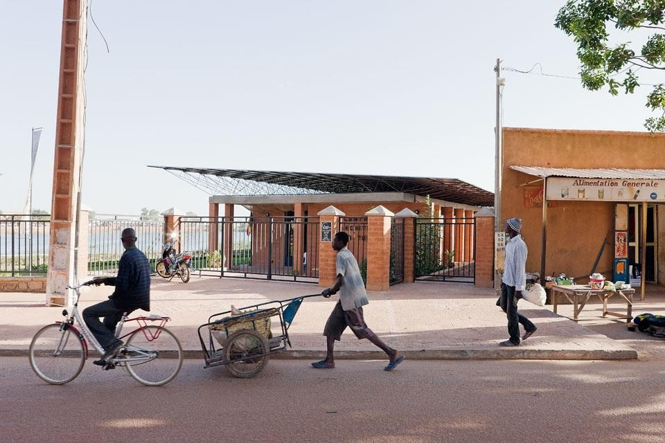 The Mopti visitors' centre.