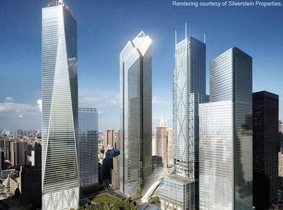 we saw it coming domus atelier daniel libeskind david childs of som proposed reconstruction of the world trade