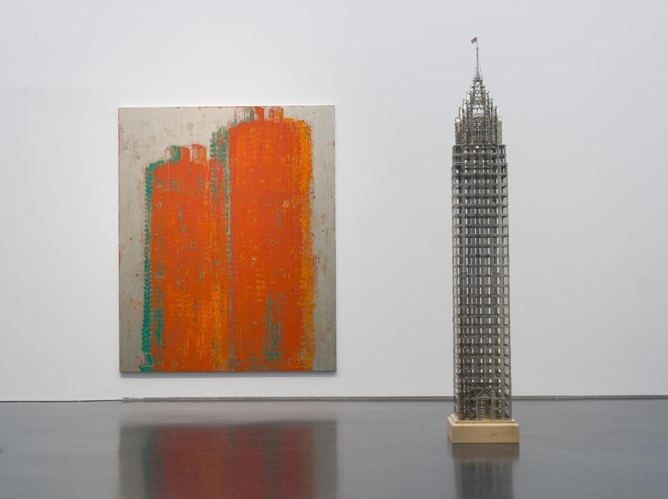 Installation view, <em>Skyscraper: Art and