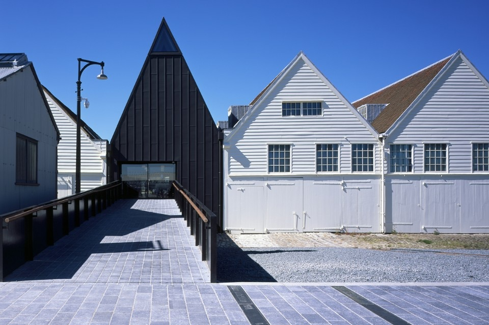 Baynes and Mitchell Architects, Command of the oceans, Chatham, England, 2016