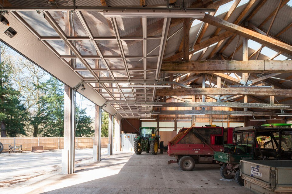 Img.10 Invisible Studio, Wolfson Tree Management Centre Mess Building, Tetbury, UK, 2016