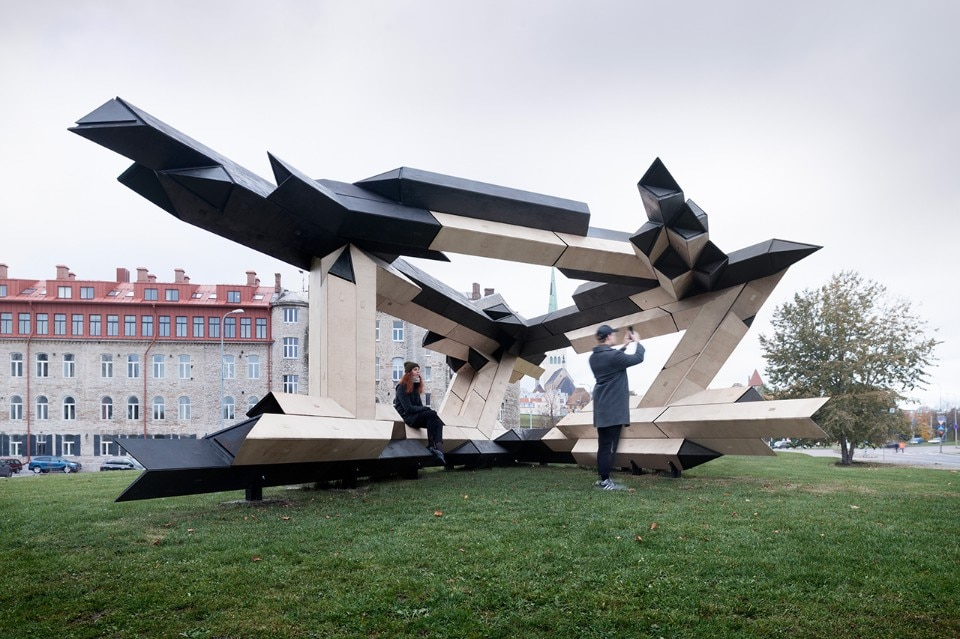 Experimental pavilion in Tallin