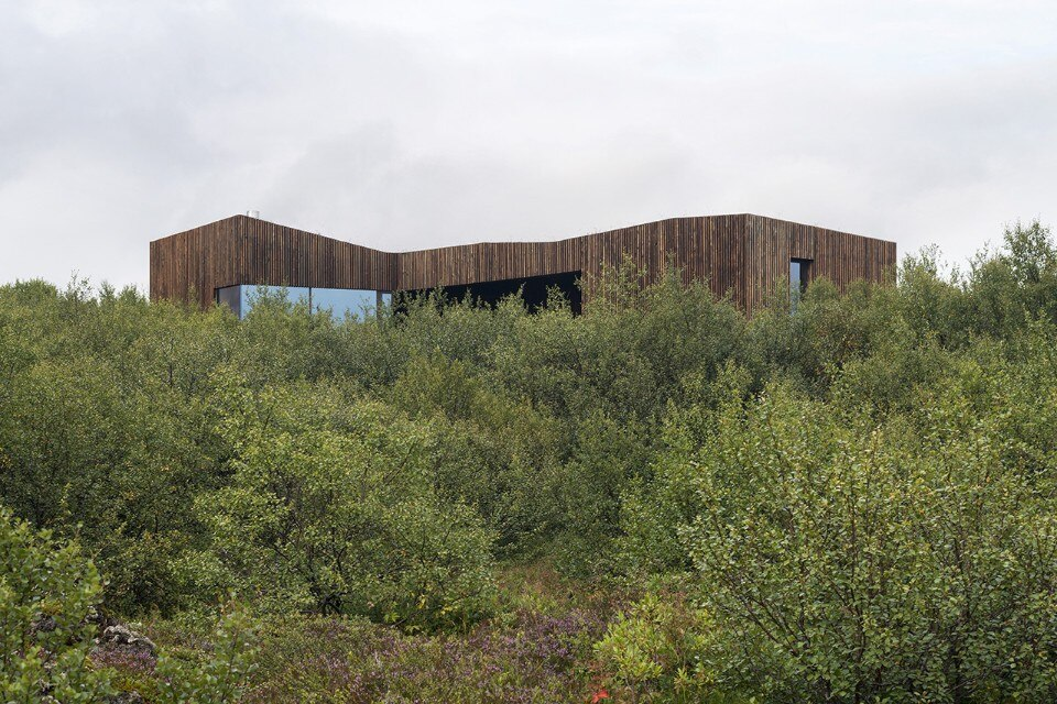 Iceland. Two twin houses revisiting the turf building tradition