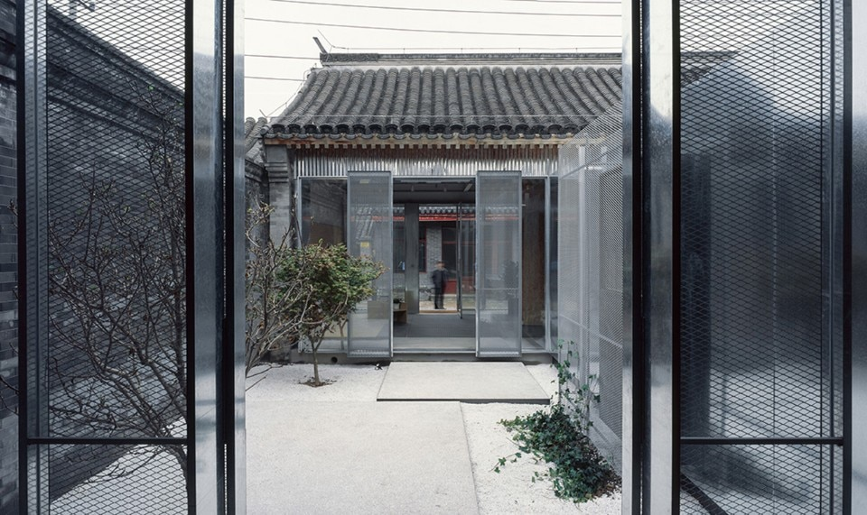 China. A publishing house opening up the hutong