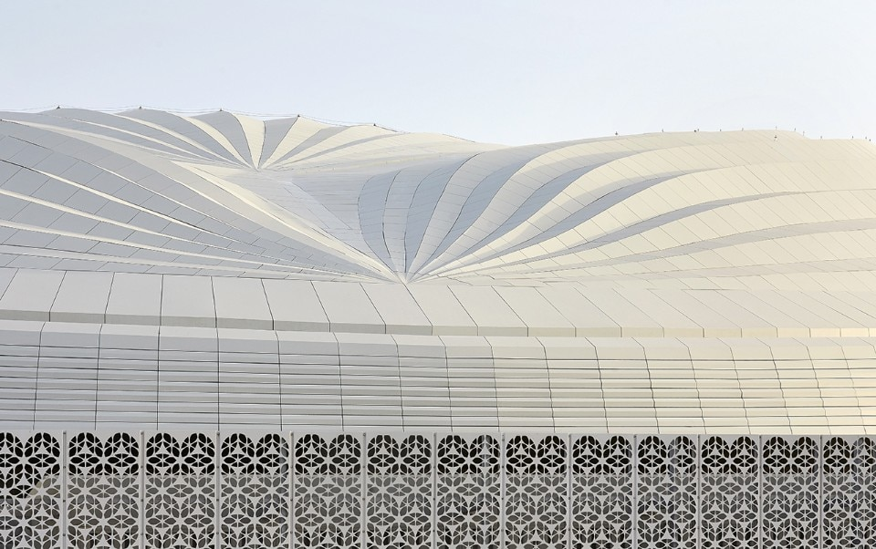 Zaha Hadid Architects' Al Janoub Stadium represents the inequalities of our time