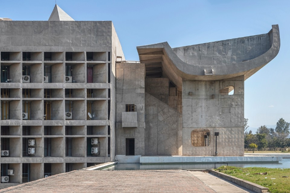 The utopia of Chandigarh seen by Roberto Conte