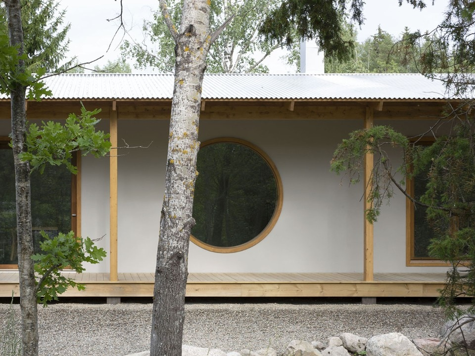 A nest house in the midst of nature in Stockholm