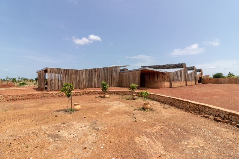 Kéré Architecture uses clay for a school in Burkina Faso to tackle climate