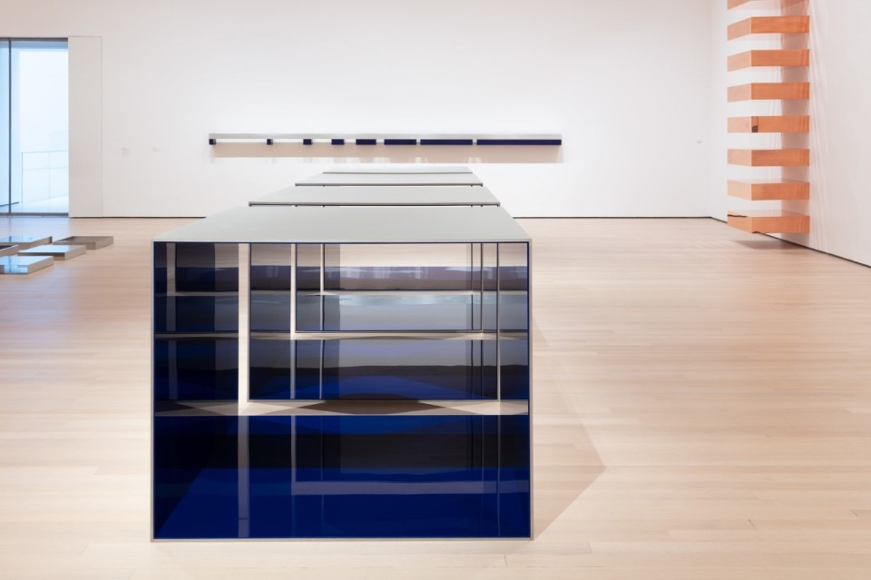 MoMa's Judd, between sculpture, architecture and design