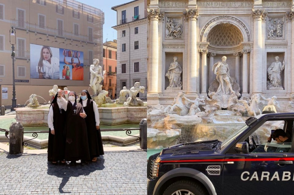 "Rome, Naples, Milan, Genoa and Palermo in Giovanna Silva's ""smart"" photos"