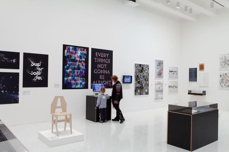 Walker Art Center, <em>Graphic Design: Now in Production</em>, installation view