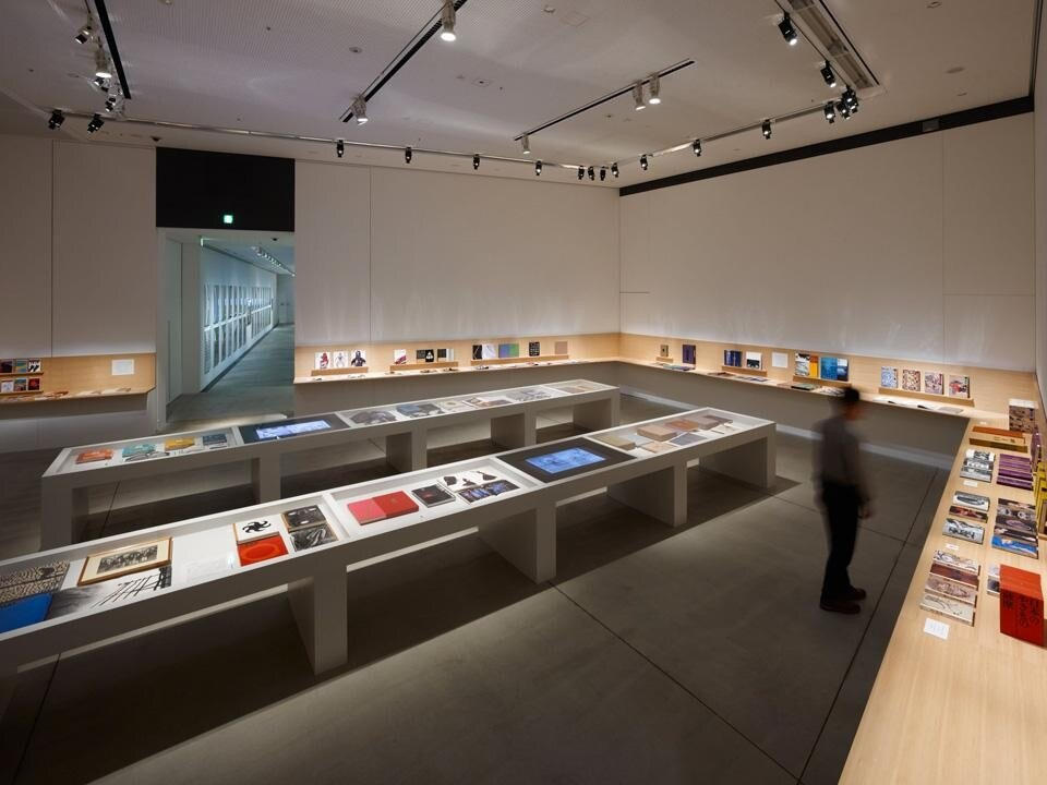 <em>Ikko Tanaka and Future/Past/East/West of Design</em> installation view at Tokyo's 21_21 Design Sight