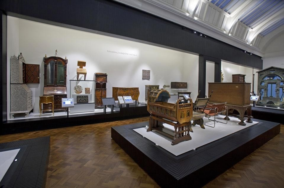View Of The Dr Susan Weber Gallery, Victoria And Albert Museum, London