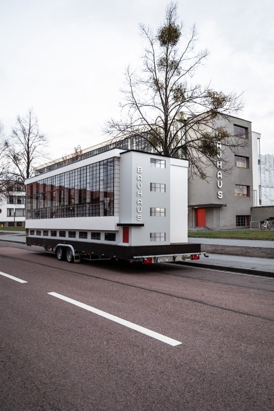 Bauhaus bus challenges the legacy of western design