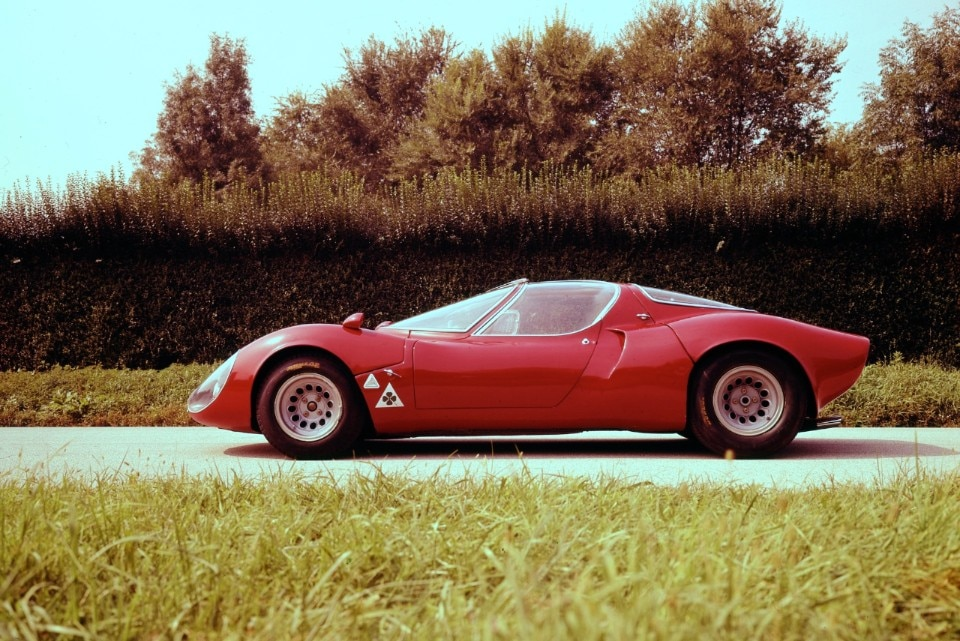 Alfa Romeo 33 Stradale, hypercar of the Sixties