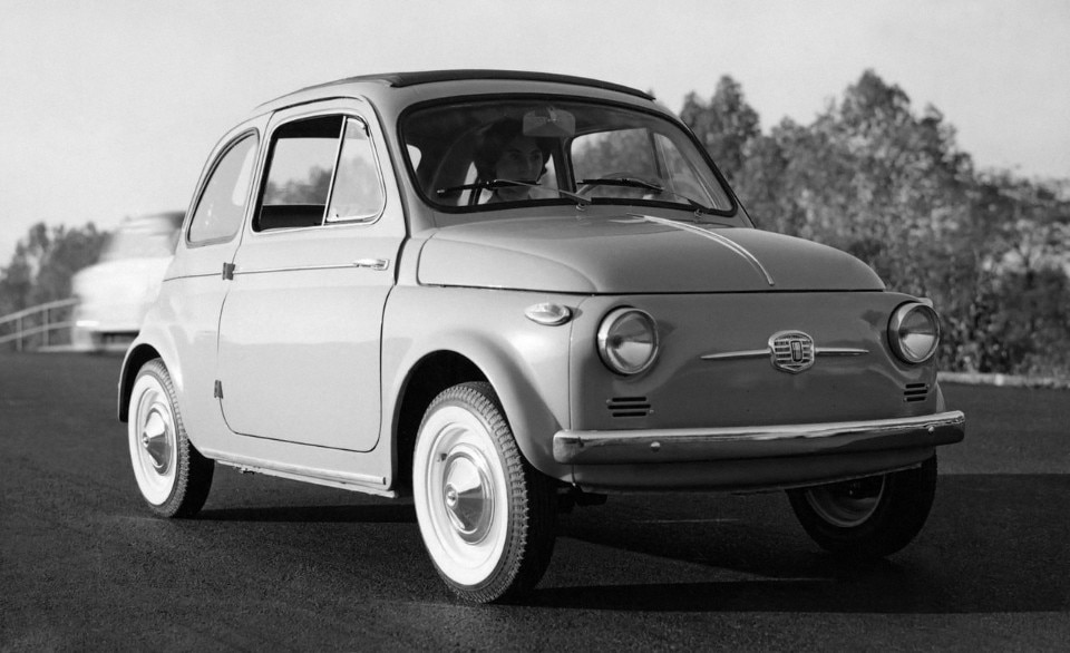 Fiat Nuova 500, the Italian miracle's moving cube (that started off as a flop)