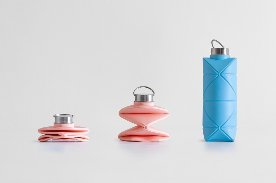 The first reusable bottle that you can fold like an origami
