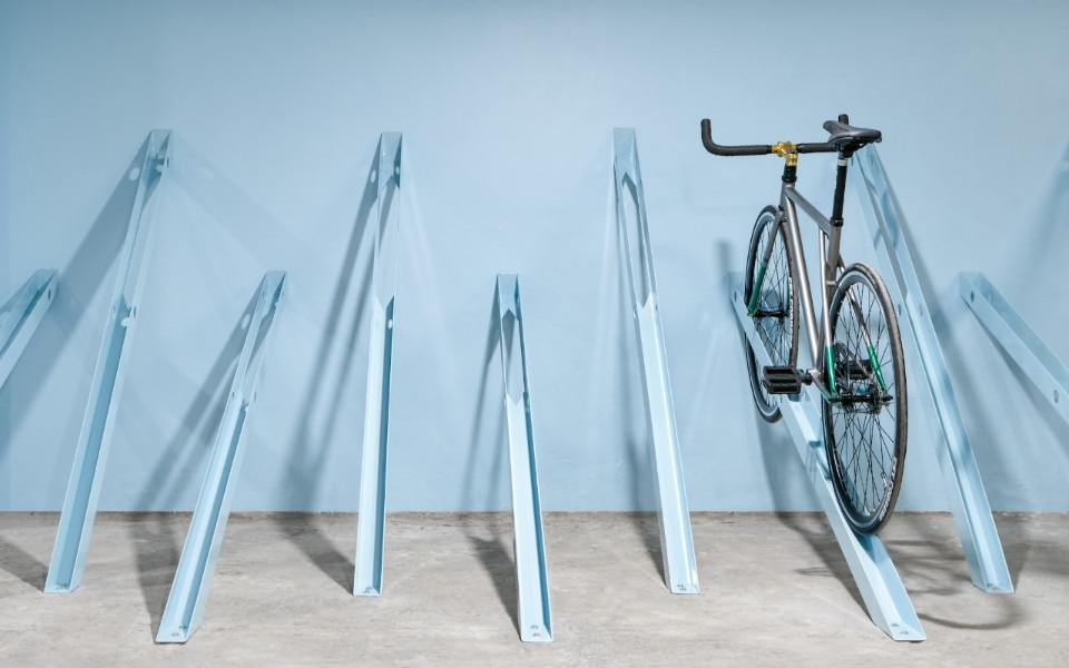 Bici, the new bike-rack by Zeller & Moye that looks like an urban installation