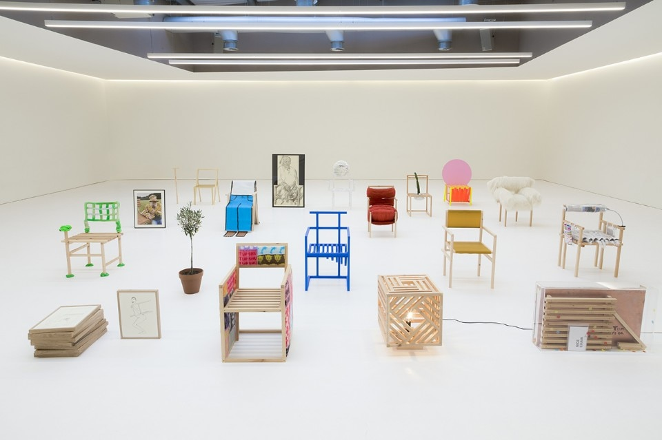 19 chairs in 19 days for 19 designers