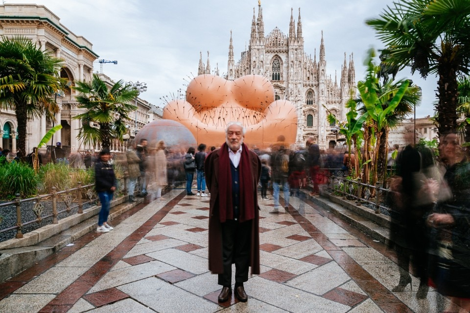 Gaetano Pesce in Piazza Duomo: a monumental sculpture provoking an examination of the female condition