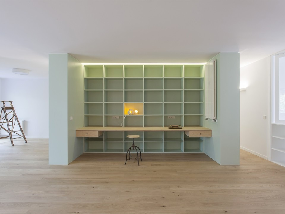The green box by ALE Estudio in Madrid