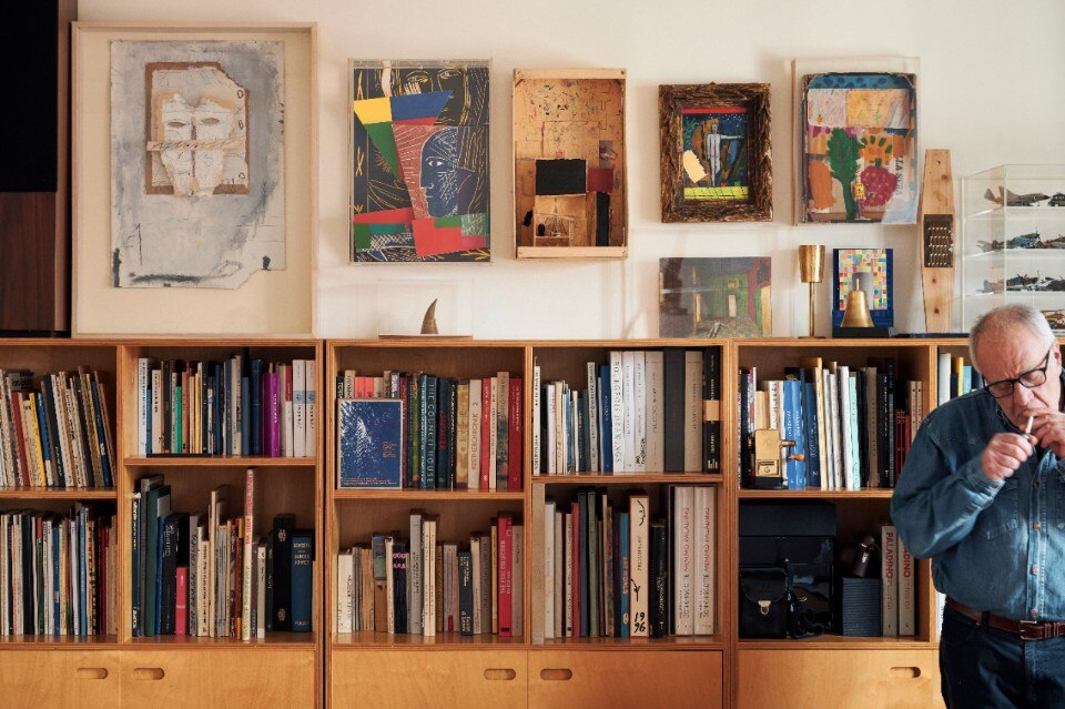 At Mimmo Paladino's house and his desire to explore all artistic languages