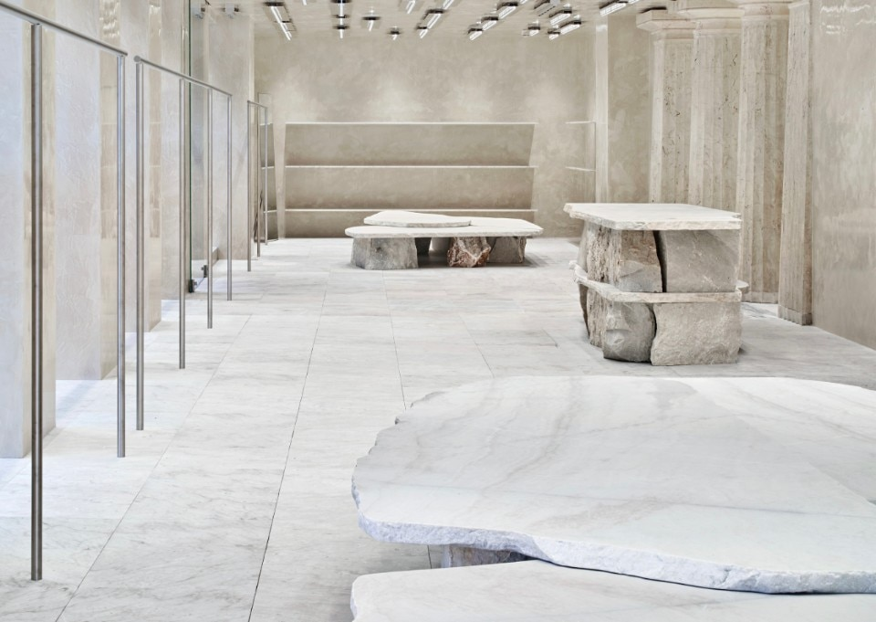 Stockholm. Acne Studios new store is a tribute to white marble