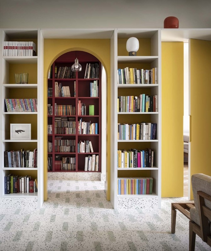 An apartment for bibliophiles