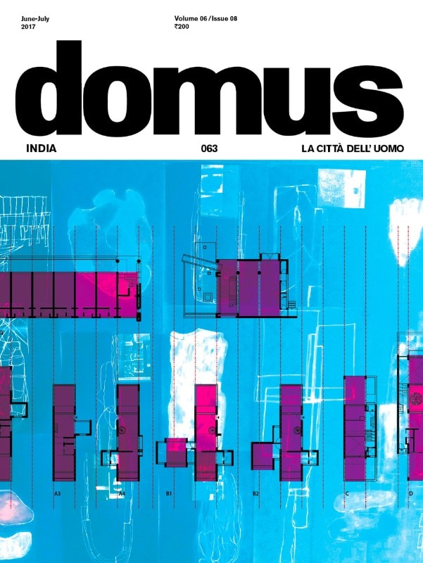 Domus India, June–July 2017, cover