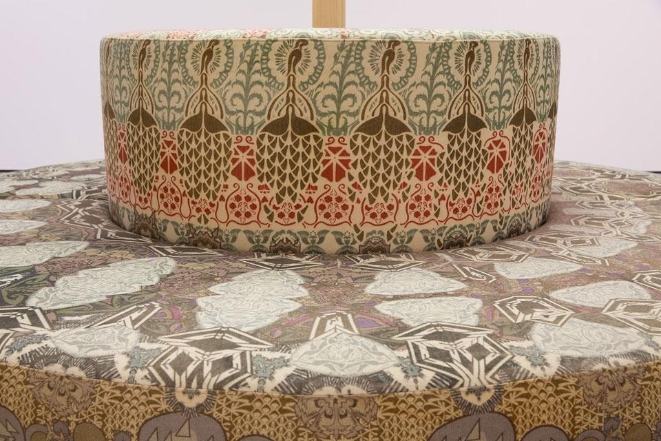 Damask Bench Part - 50: Invited By The Tilburg Textiel Museum To Work With Their Collection,  Minale-Maeda Designed Two Pieces Inspired By The Patterns In The Fabrics Of  The Museum, ...