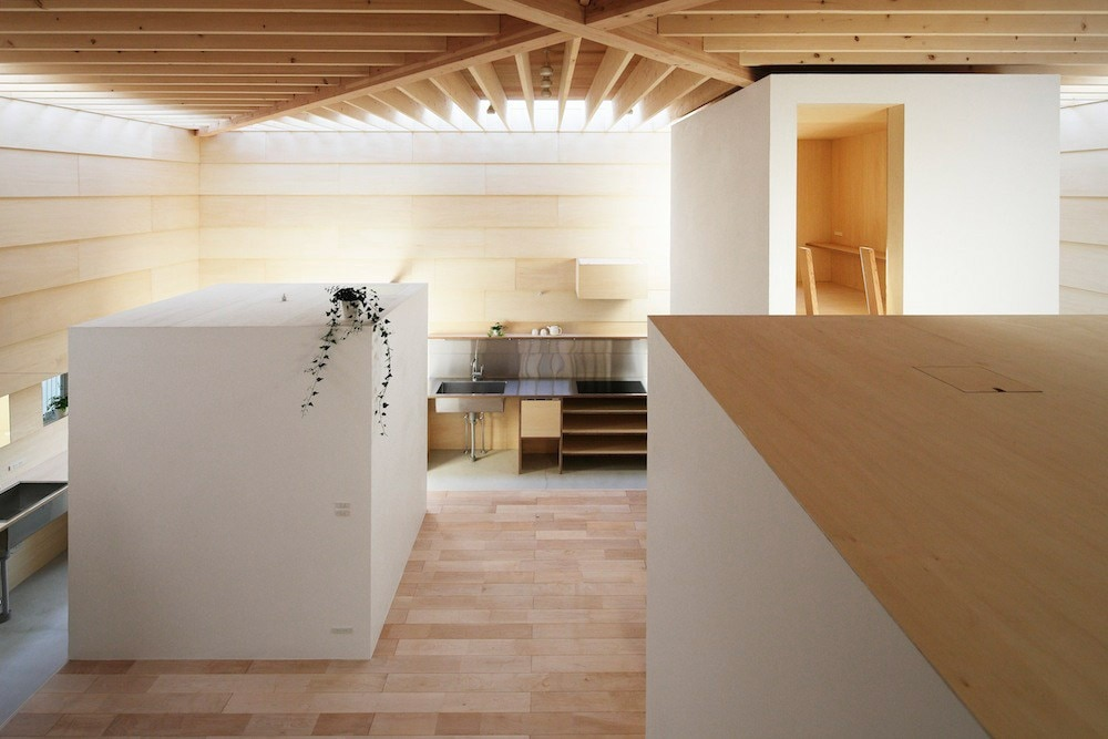 mA-style architects: Light Walls House