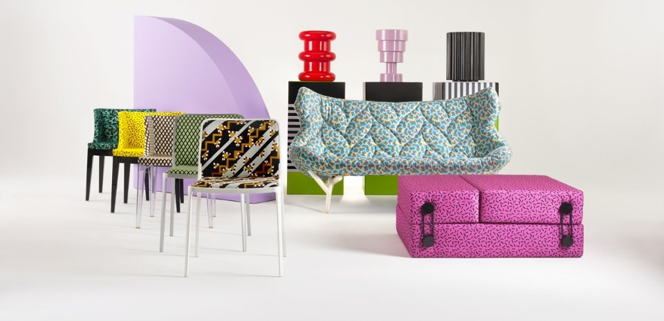 Kartell goes Sottsass. A tribute to Memphis