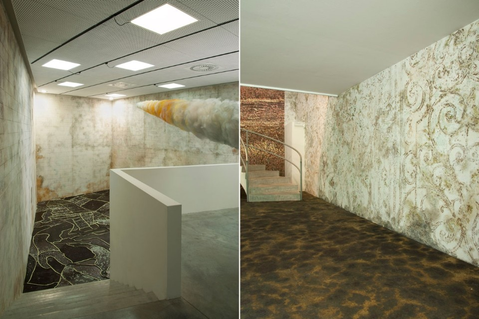 """Gal Weinstein: Sun Stand Still"", installation view, Israeli pavilion, 57th International Art Exhibition  – La Biennale di Venezia, 2017"