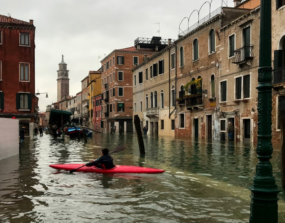 "In Venice ""all the historic buildings are at risk"""
