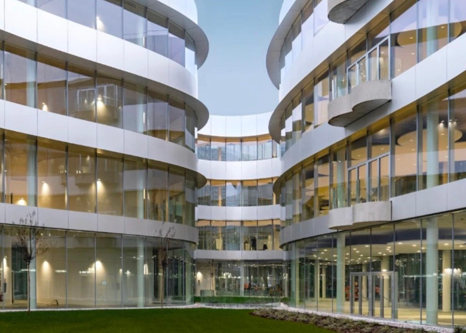 Bocconi campus by SANAA inaugurates but it's only half completed