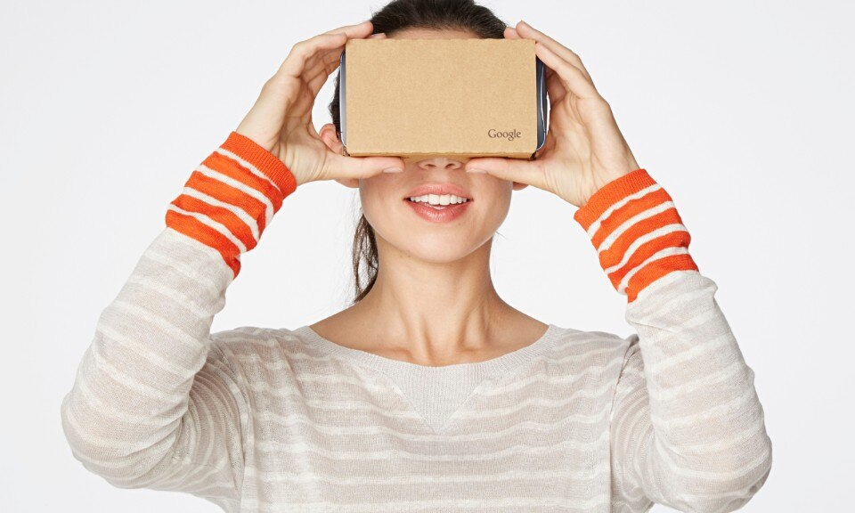 Google is open-sourcing Cardboard its cheap smartphone-based VR headset