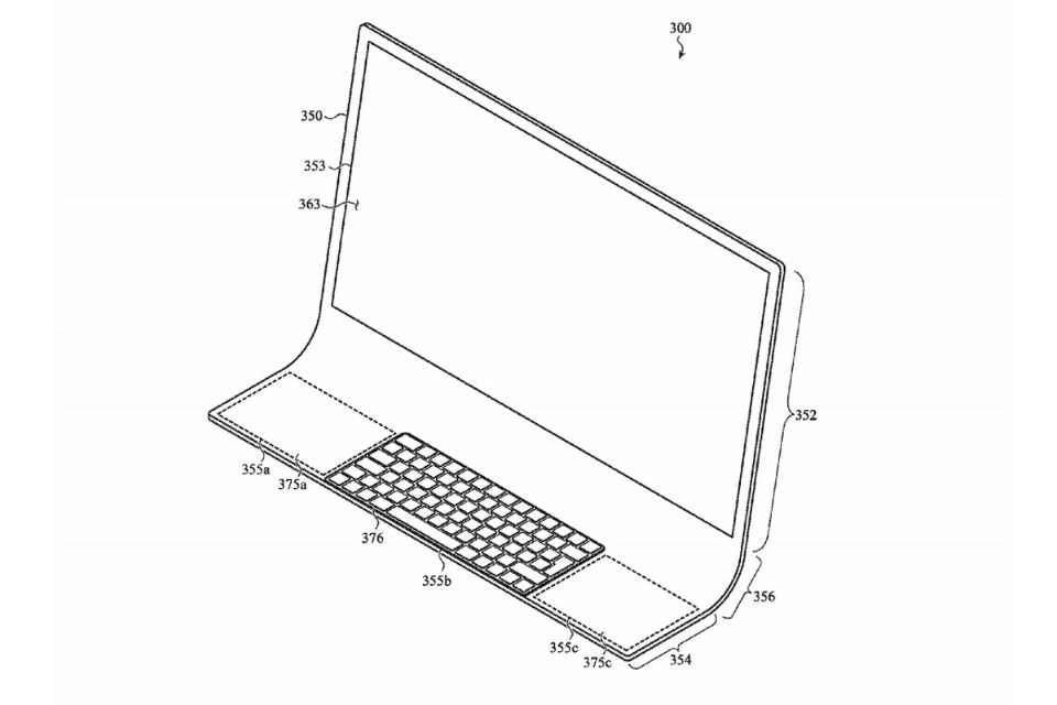 Apple's future iMac could be made from a single piece of glass
