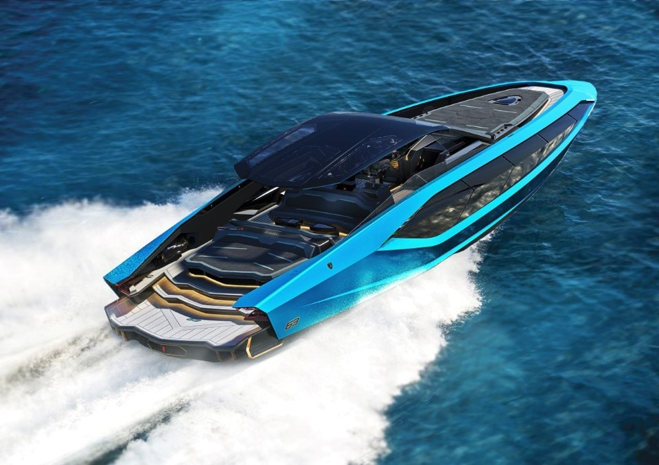 Tecnomar Lamborghini 63: on the water like in a sports car