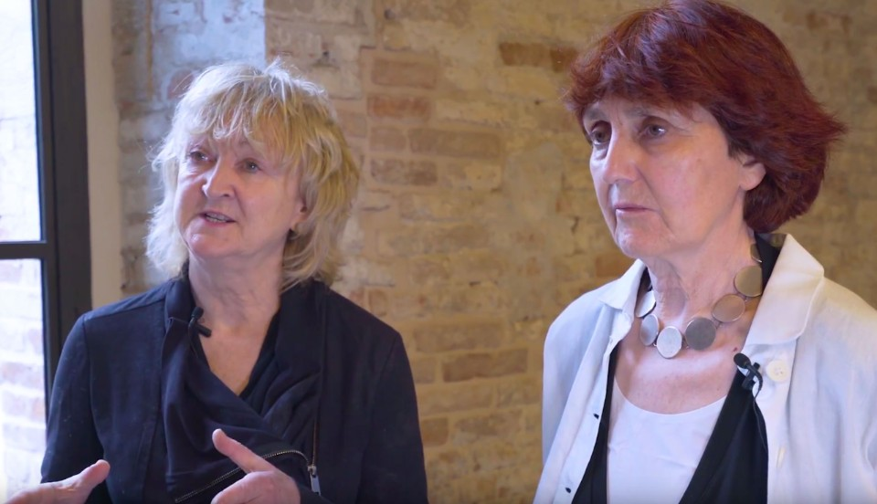"Venice. Yvonne Farrell and Shelley McNamara: ""Architecture is the cradle of our lives"""